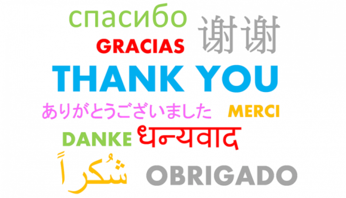 work tools - thank you in different languages